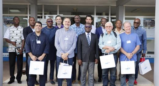 Trafic portuaire / Reprise de l'exportation du cacao ivoirien au Brésil : une mission brésilienne visite le Port de San Pedro feature image