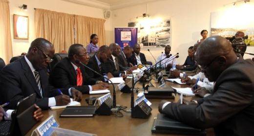 SINPORT 2014 / Les Présidents des Conseils Régionaux de L'hinterland au Directeur Général : « Nous y adhérons, en avant toute pour sa réalisation » feature image