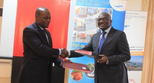 La société Générale de Banque en Côte d'Ivoire  (SGBCI) et le PASP signent un accord de convention feature image