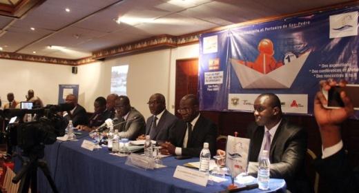 05 Février 2014 - Conférence de Presse de lancement de la SINPORT 2014. feature image