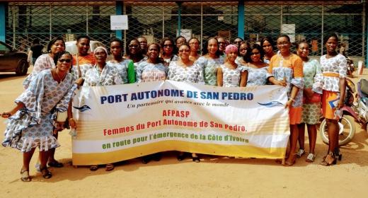 Les femmes du Port Autonome de San Pedro, plus que jamais célébrées.  feature image