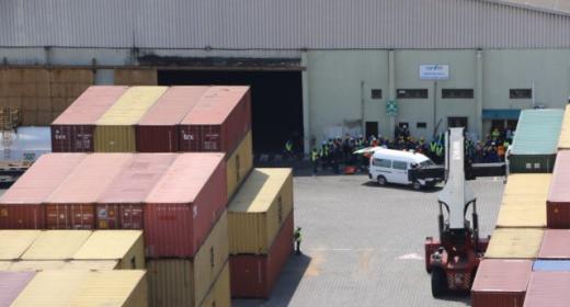 Le bureau de représentation du port autonome de san pedro formé