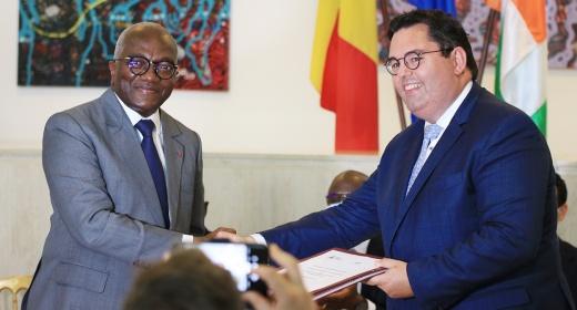 Cérémonie de signature de l'avenant N°2 du contrat de partenariat entre le PASP et le PAI feature image