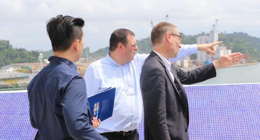 le Fond de développement britannique  CDC visite l'autorité portuaire de San Pedro feature image