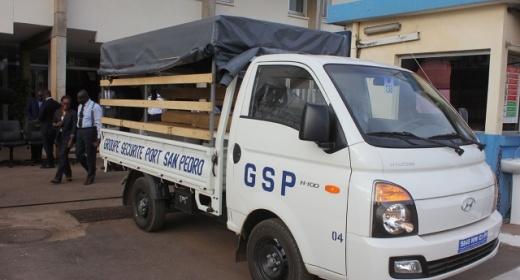 Sécurité portuaire  / la Direction Générale du Port Autonome de San Pedro équipe le groupe de sécurité feature image