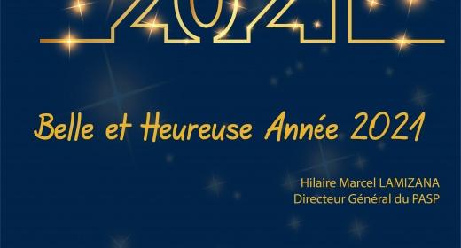 Belle et Heureuse Année 2021 feature image