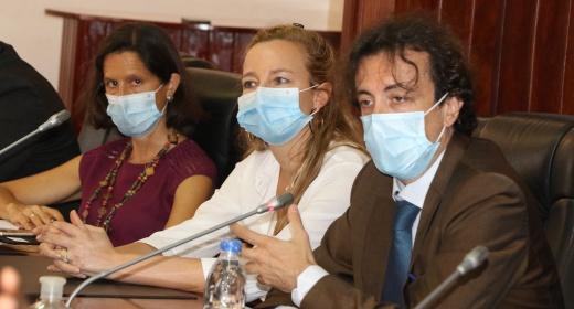 Une délégation de l'Union Européenne au PASP feature image