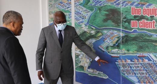 Visite prospective de l'ambassadeur d'Afrique du Sud au Port Autonome de San Pedro feature image