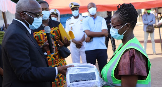 Lutte contre la pandémie du coronavirus (COVID-19)/ Le Port de pêche de San Pedro applique les mesures de préventions feature image