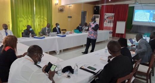 Cérémonie d'ouverture des journées de formation des acteurs de la communauté portuaire pour la promotion des guichets uniques et des systèmes communautaires portuaires feature image